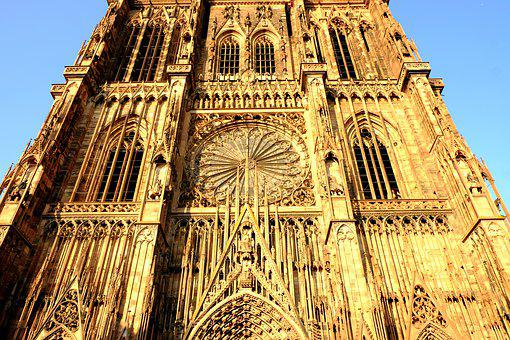 Dom, Strasbourg, Church, Building, Architecture