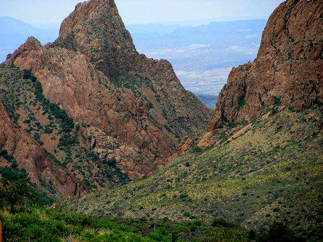 Big Bend, Texas, Mountains, Desert, Sky, Scenic, Hills