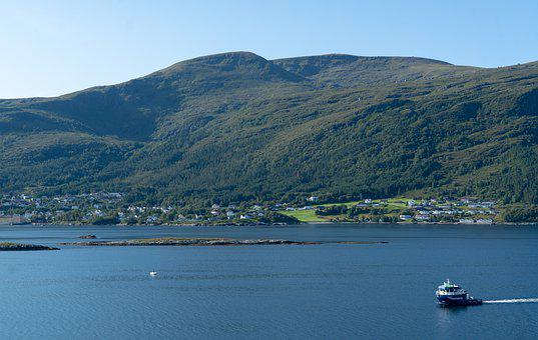 Norway, Coast, Alesund, Boat, Mountains, Rural, Travel