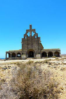 Ghost Town, Abades, Tenerife, Leprosy, Church