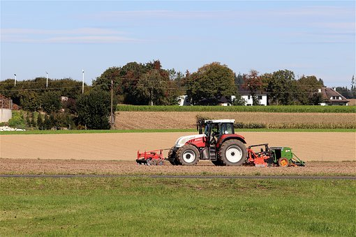 Agriculture, Sowing, Tractor, Agricultural Machinery