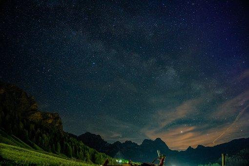 Milky Way, Astrophotography, Galaxy, Universe, Night
