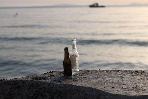 Haze, Bottles, Drink, Bottle, Beer, Sadness, Spirit