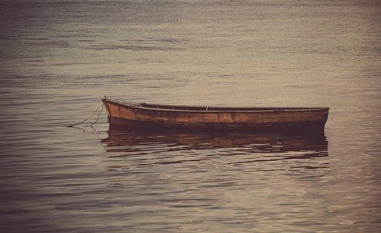Boat On Sea, Row Boat, Water, Boat, Row, Ship