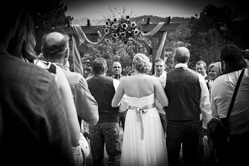 Weddings, Outdoors, Wedding, Bride, Woman, People