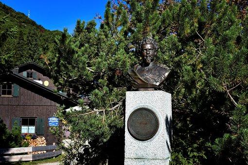 King Ludwig Ii, Bavaria, Bust, King Of Bavaria, Memory
