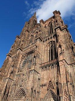 Strasbourg, Cathedral, Alsace