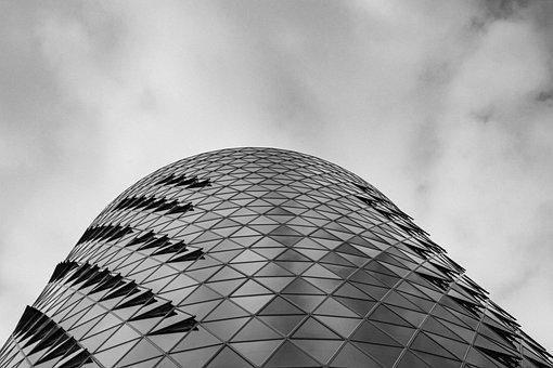 Building, White, Architecture, City, Skyscraper, Tower