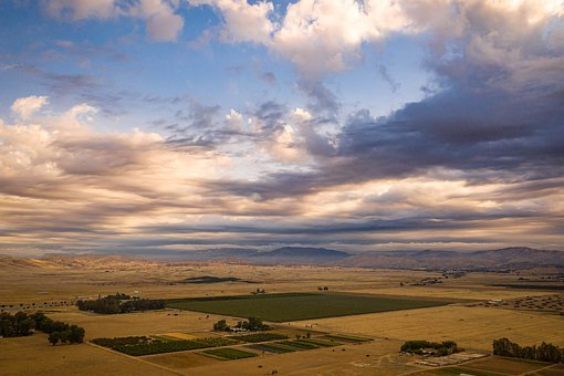 Clouds, Sky, Rain, Storm, Ranch, Country, Countryside