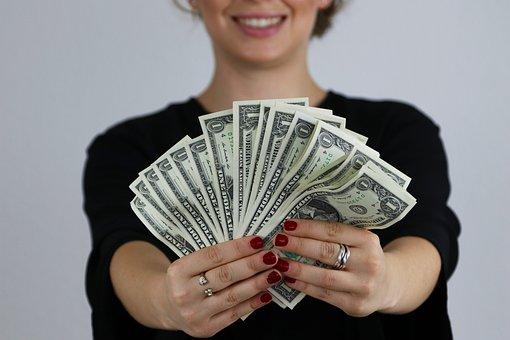 Bills, Dollar, Money, Wealth, Finance, Currency