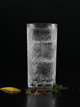 Glass, Garnish, Drink, Cold, Refreshing, Fizzy