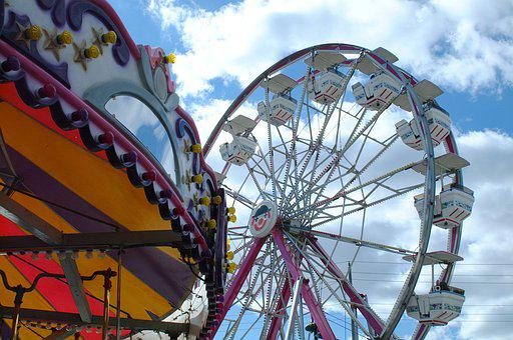 Ferris Wheel, Carnival, Fair, Fun, Amusement, Festival