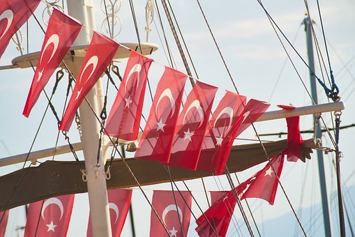 Turkish, Flag, Ship, Baloch, Celebration, Turkey, Red