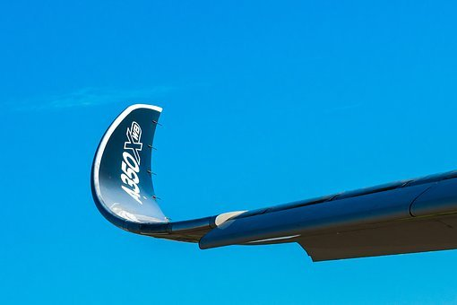 A350, Wing Tip, Mechanization, Wing, Plane, The Show