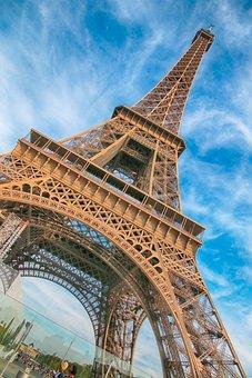 Eiffel Tower, Eiffel, Paris, France, Architecture