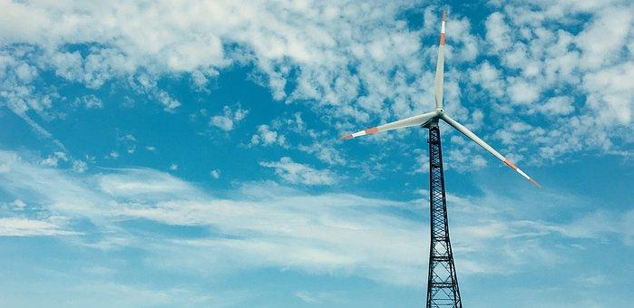 Wind Turbine, Wind Park, Eco Electricity, Pinwheel