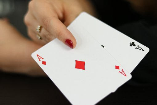 Double Ace, Cards, Place, Card Game, Play, Win, Lose