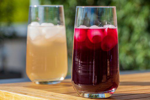 Drink, Glass, Fresh, Ice, Ice Cubes, Cold, Refreshment