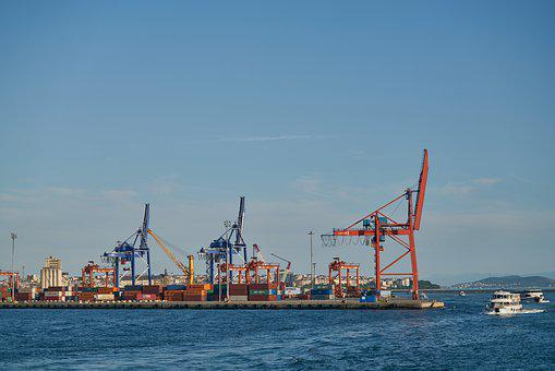 Port, Shipping, Ship, Container, Transport, Marine