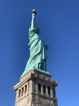Statue Of Liberty, New York, Liberty, Ny, Manhattan