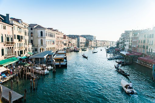 Venice, Veneto, Italy, Water, Canal, Tourism