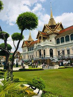 Thailand, Wat, Temple, Buddhism, Trip