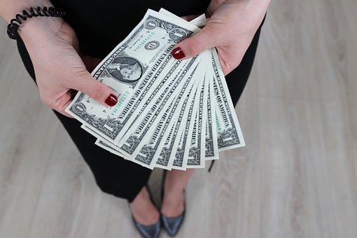 Dollar, Bills, Money, Wealth, Finance, Currency