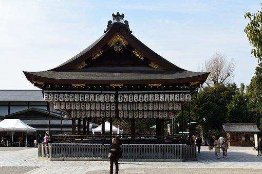 Yasaka Shrine, Kyoto, Japan, Shrine, Shinto Shrine, Old