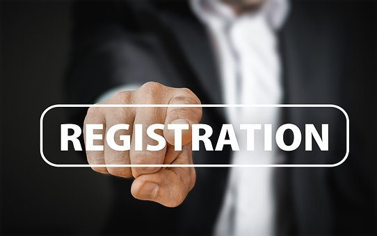 Registration, Password, Try Again, Email, User, Account