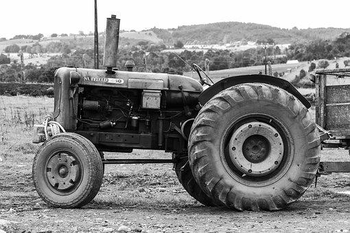 Tractor, Farm, Agriculture, Machine, Rural, Vehicle