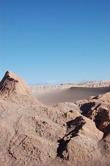 Chile, Desert, Atacama, Nature, Andes, Landscape, Sand
