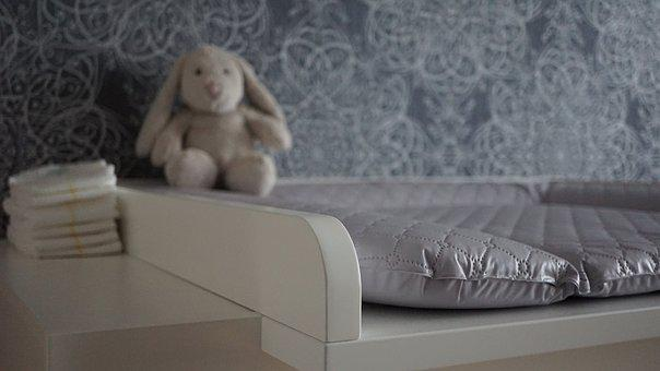 Baby Changing Chest Of Drawers, Baby Care, Changing Mat