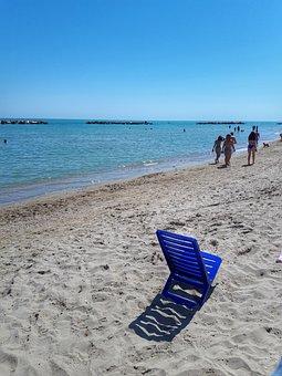 Sea, Summer, Beach, Nature, Sky, Landscape, Scenery