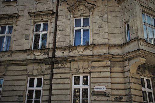 Old Houses, Bratislava, Window, The Walls Of The