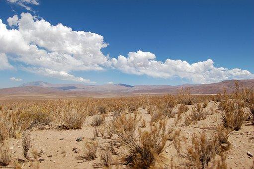 Chile, Landscape, Atacama Desert, Nature, Desert, Sand