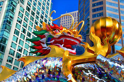 City Dragon, Chinese Dragon, Picturesque, Events