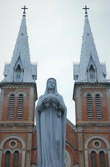 Church, Maria, Religion, Christian, Holy, Catholic
