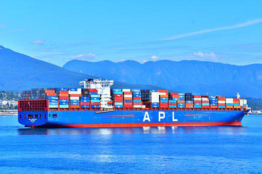 Cargo Ships, Container Ships, Port, Maritime