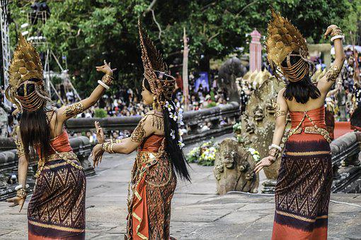 Dancer, Tradition, Thailand, Cambodia, People