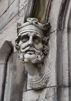 Brian Boru, Dublin Castle, Statue, Ireland