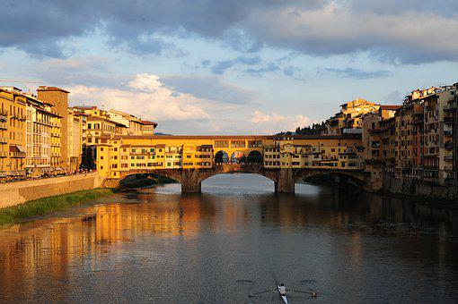 Ponto Vecchio, Florence, Firenze, Italy, Tuscany
