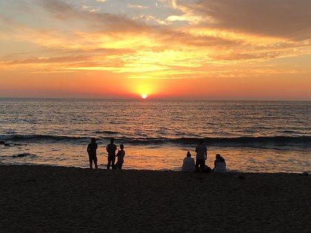 Sunset, Beach, Mazatlan