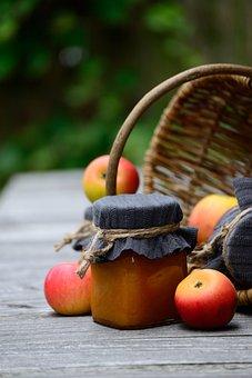 Jam, Apple Jam, Apple, Windfall, Case Apples, Meadow