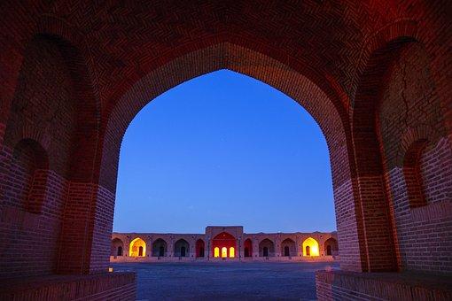 Caravansary, Monument, Persian Architecture, Iran