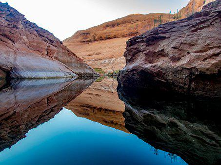 Lake Powell, Summer, Outdoor, Canyon