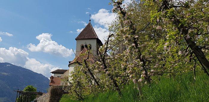 South Tyrol, St, Peter, Meran, Church
