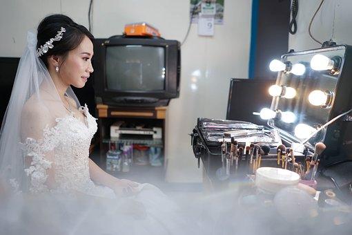 Bride, Beauty, Preparation, Wallpaper, Wedding, Woman