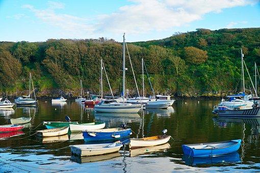 Boats, Fishing, Harbour, Boat, Water, Sea, Ocean, Coast