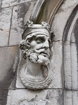 Brian Boru, Dublin, Castle, Statue, Ireland