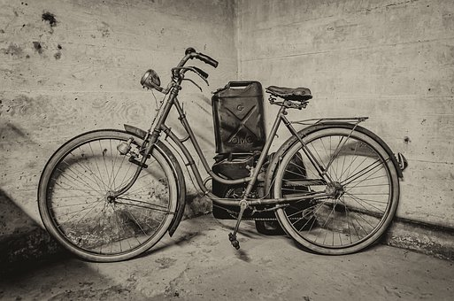 Bike, Former, Bicycle, Vintage, Retro, Antique, Rusty